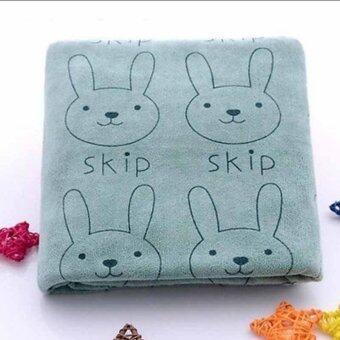 3pcs Cute Rabbit Baby Infant Newborn 20x50CM Bath Towel Washcloth Bathing Cloth Soft - Intl (image 4)