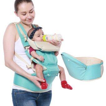 เด็กทารกหายใจผู้บริหารปรับได้กระเป๋าเป้สะพายห่อ (น้ำ) (image 4)