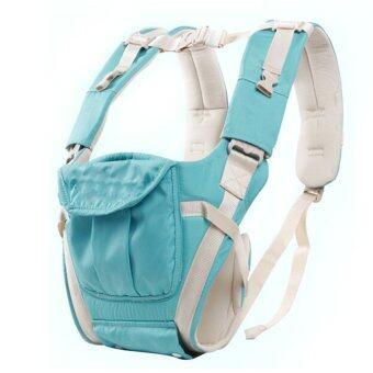 เด็กทารกหายใจผู้บริหารปรับได้กระเป๋าเป้สะพายห่อ (น้ำ) (image 2)