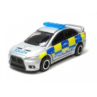 Harga Tomica No.39 Mitsubishi Lancer Evolution X British Police (Grey)