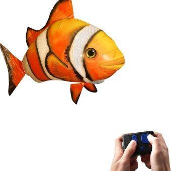ปลาบังคับวิทยุ บอลลูนบังคับวิทยุ รูปปลานีโม่ - สีส้ม