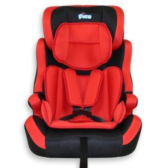 Fico คาร์ซีท รุ่น HB619 สีแดงเหมาะสำหรับเด็กอายุ 9 เดือน - 12 ปี