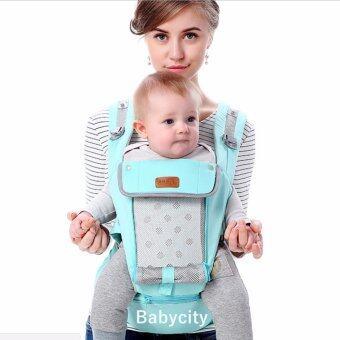 เป้อุ้มเด็ก เป้สะพายเด็ก เป้อุ้มทารก เป้อุ้ม Baby Carrier รุ่นขายดี สีฟ้า