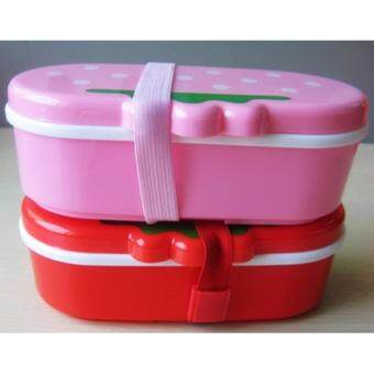 กล่องอาหารเด็ก แพ็ค2