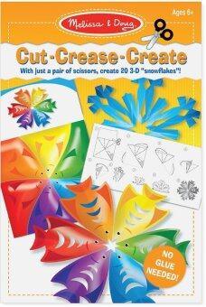 Melissa and Doug Cut Crease Create Snowflakes