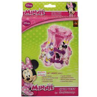Disney เสื้อชูชีพเป่าลม ลายมินนีเม้าส์ Minnie Mouse ขนาด18''x20'' MN3201