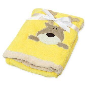 Harga Cartoon Deer Baby Blanket Yellow