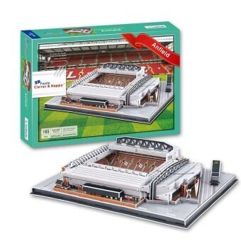 Harga 3D Puzzle Liverpool Fc Club Home Anfield Stadium Model For Kidseducational Toy(Intl)