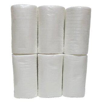 BABYKIDS95 กระดาษออร์แกนิกส์ เยื่อไผ่ สำหรับรองกางเกงผ้าอ้อม 6 ม้วน