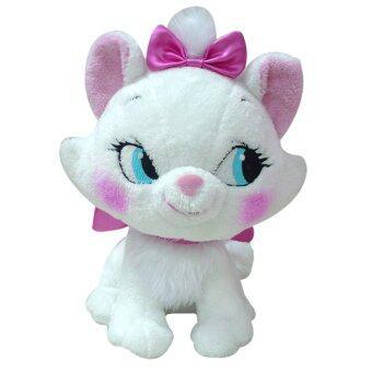 Disney ตุ๊กตา แมวมาเรีย 10 นิ้ว (ผ้าขน Mohair)