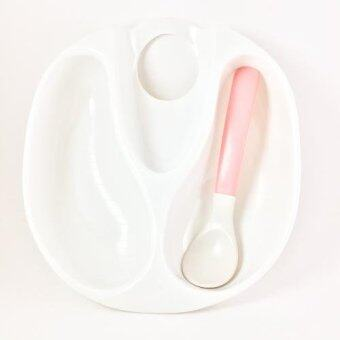 Litty Baby Feeding Bowl with Spoon ชุดชามและช้อนป้อนข้าวเด็ก