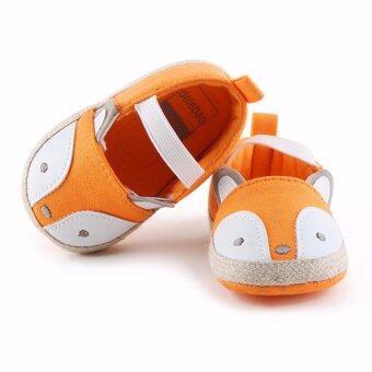 Baby Touch รองเท้าเด็ก รองเท้าหัดเดิน แซนเดิล จิ้งจอก (ส้ม)
