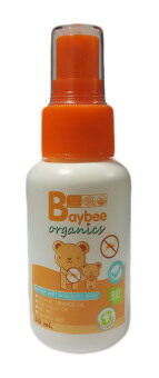 BAYBEE สเปรย์กันยุงสำหรับเด็ก ออร์แกนิค กลิ่นตะไคร้หอม 50ml.