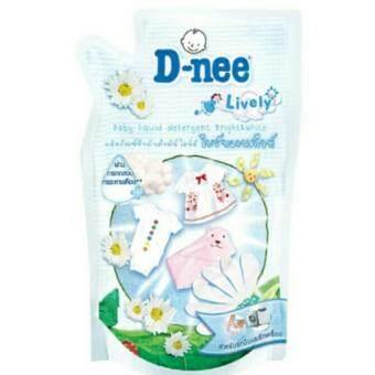D-nee น้ำยาซักผ้าเด็กดีนี่ไลฟ์ลี่ ไบร์ทแอนด์ไวท์