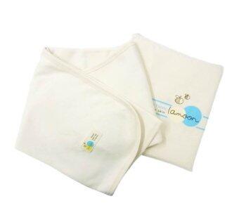 ละมุน ผ้าห่มเด็กออร์แกนิค คอตต้อน 100% 75x75 ซม.