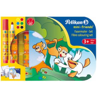 Pelikan Mini-Friends 412/6 สีเมจิก 6 สี