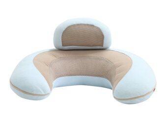 Ailebebe หมอนรองให้นม 3 Way Cushion Macaron - สีฟ้า