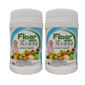 Fiber Mate Kiddy ผลิตภัณฑ์เสริมอาหารไฟเบอร์เมท คิดดี้ 60 กรัม (2 ขวด)