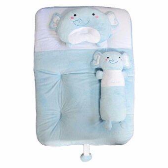 PAPA BABY ชุดที่นอนปิคนิคเวลบัว ลายช้าง