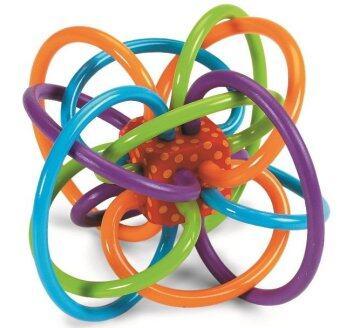 Manhattan Toy Winkel ของเล่น ยางกัดเขย่า BPA Free