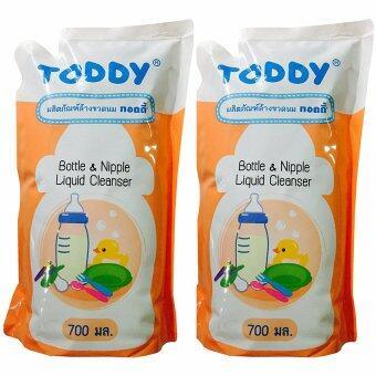 Toddy Baby น้ำยาล้างขวดนม ชนิดเติม 700 ml. (2 ถุง)
