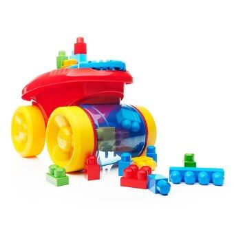 Harga MEGA BLOKS® First Builders™ Block Scooping Wagon