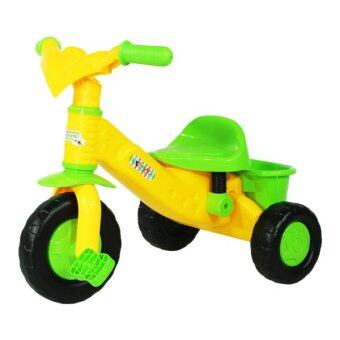 Thaiken รถจักรยานเด็ก 3ล้อ Funny (สีเหลือง)