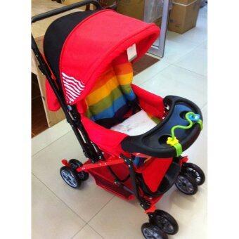 Premium Kids เบาะรองหลังและก้น(แบบซักได้)สำหรับรถเข็นเด็ก (image 2)