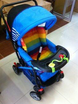 Premium Kids เบาะรองหลังและก้น(แบบซักได้)สำหรับรถเข็นเด็ก (image 1)