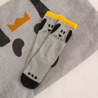 Baby Touch ถุงเท้าเด็ก ยาวบาง ฮิปฮอป (เจ้าตูบ)