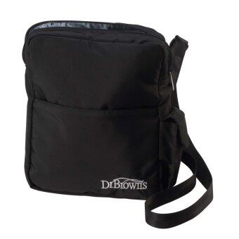Dr.Brown's กระเป๋าเก็บความร้อน เย็น Insulated Bottle Tote, Black