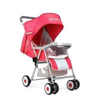Toyzoner รถเข็นเด็ก รถเด็ก Lion Baby รุ่น LB3 (สีแดง)