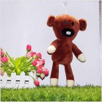 Harga 28cm Mr Bean Teddy Bear Stuffed Plush Toy Brown Figure Animal Doll Baby Toys Free shipping