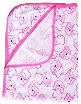 Attoon ผ้าห่อตัวเด็ก ลายลูกหมี - สีชมพู