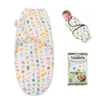 ผ้าห่อตัวทารก รุ่นตัวอักษรภาษาอังกฤษ / SWA – Baby towel (AZ)
