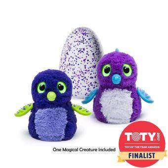 HATCHIMAL - ตุ๊กตาฟักไข่ - HATCHIMALS DRAGGLES PURPLE EGG AST (TRU-11452)