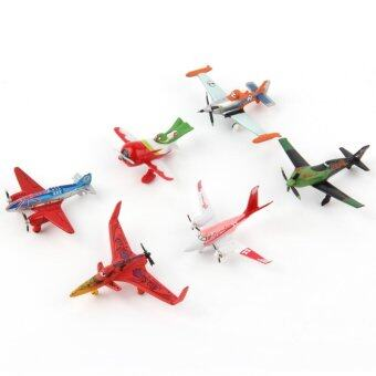 Harga ERA 6 Pieces/Set Planes Play Set Plastic Model Planes Figure Airplanes Toy