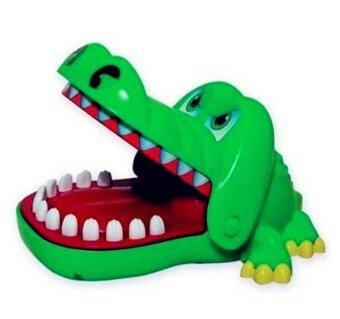 smartbabyandkid ของเล่นจระเข้งับนิ้ว (สีเขียว)