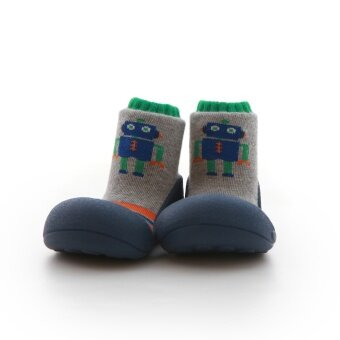 Attipas รองเท้าหัดเดิน รุ่น Robot สี Navy Size M