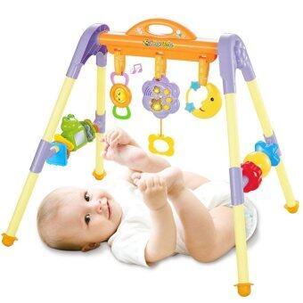 Mammy2baby โมบายเด็กแรกเกิด, play gym, โมบายตั้งพื้น, ของเล่นฝึกพัฒนาการเด็ก ( Yellow&Purple )
