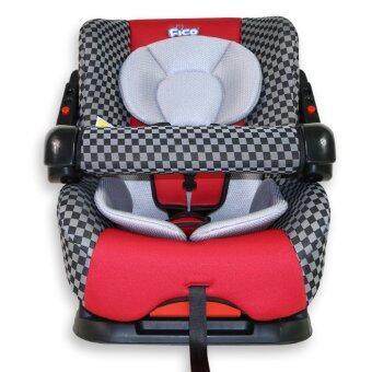 Fico คาร์ซีท รุ่น HB901 Special สีเเดงตาราง เหมาะกับเด็กแรกเกิดถึง 4 ขวบ