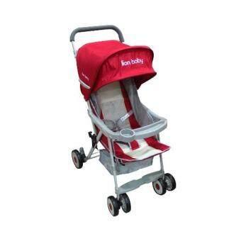 Lion Baby รถเข็นเด็ก รุ่น TLB988-Toy8-SPL (สีแดง)