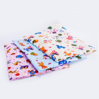 Babi Care ผ้ายางรองกันเปื้อนสำหรับเด็ก เกรดมาตรฐาน ขนาดเล็ก ไซด์ S ( แพ็ค 3 ) คละลาย คละสี