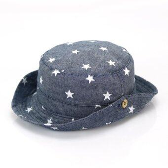 Harga Bear Fashion Spring Summer Baby Girls Boys Infant Sun Protection Star Hats Newborn Caps - intl