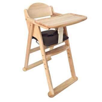 เก้าอี้ทานข้าว สำหรับเด็ก สไตล์ญี่ปุ่น (ลายไม้)