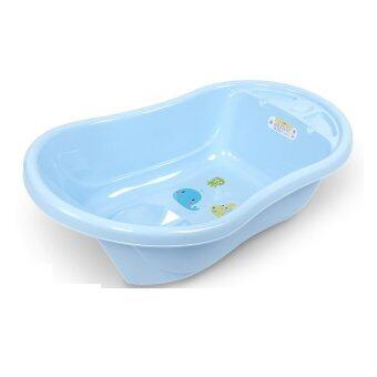 BabaMamaอ่างอาบน้ำสำหรับเด็ก ขนาดกลาง รุ่น3800สีฟ้า