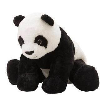 IKEA แพนด้า ครอมมิก ตุ๊กตาผ้า, ขาว, ดำ ขนนุ่มมาก