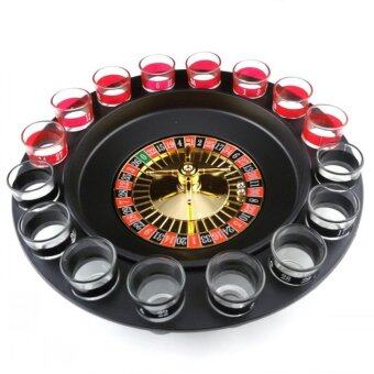 Harga Shot Glass Roulette Drinking Game Set (2 Balls and 16 Glasses) Beer Game - intl