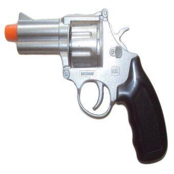 ปืนแก๊ป ปืนปล่อยตัวนักกีฬา ปืนไล่นก ไล่หนู (สีเงิน)