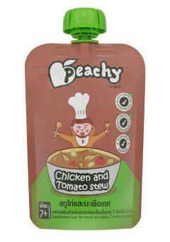 Peachy อาหารเสริมเด็ก สตูไก่มะเขือเทศ (28 ถุง)